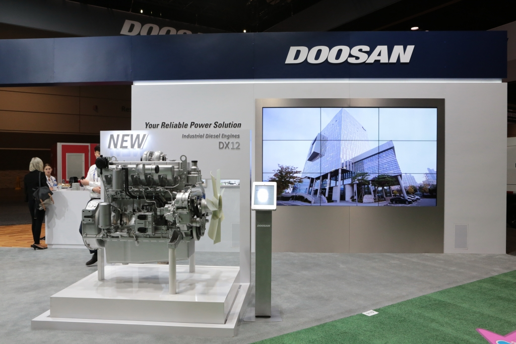 Doosan, at last MEE, revealed new details on the DX series