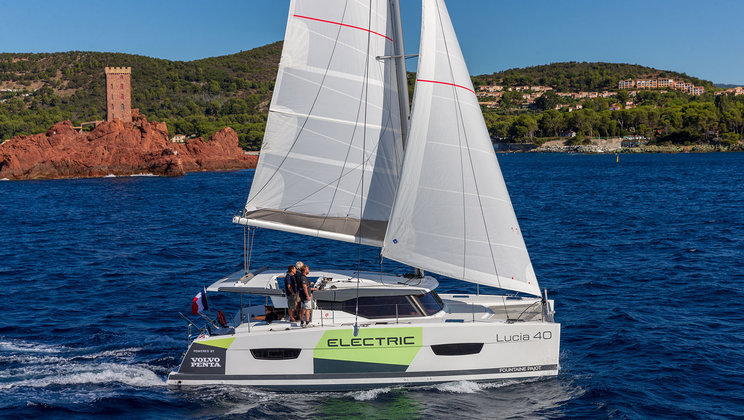 volvo penta electric sailing
