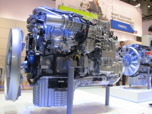 MTU Stage V engine