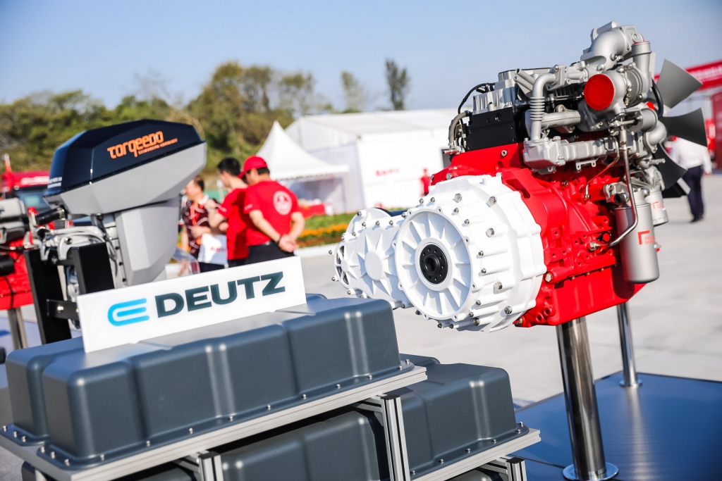 Deutz turns to China