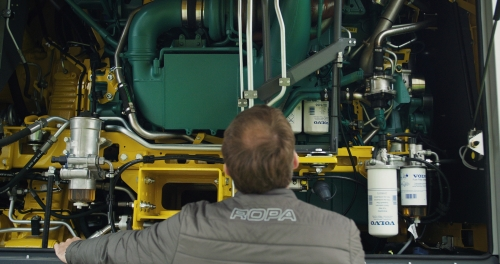 Volvo Penta and Ropa
