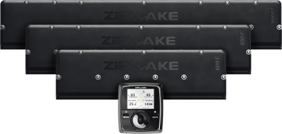 Zipwake Series E interceptors