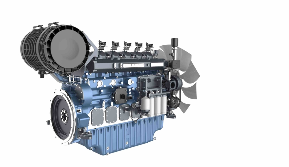 Baudouin gas engines