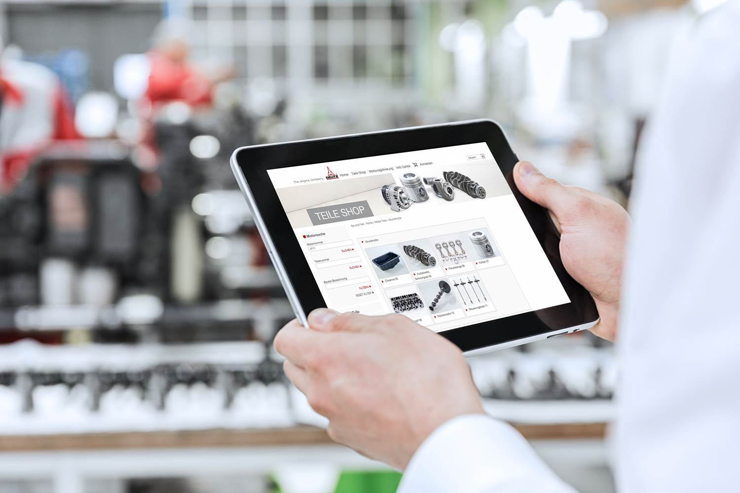 Deutz webshop enhancement