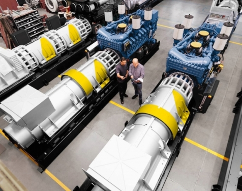 Rolls-Royce UPS and Railway power pack