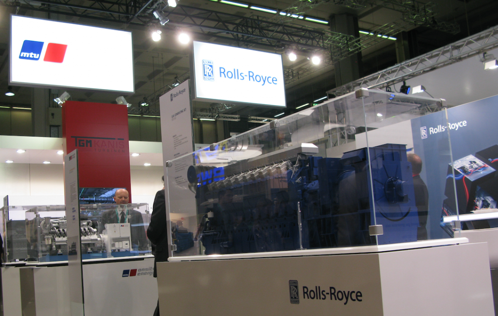 Rolls-Royce and MAN Energy Solutions