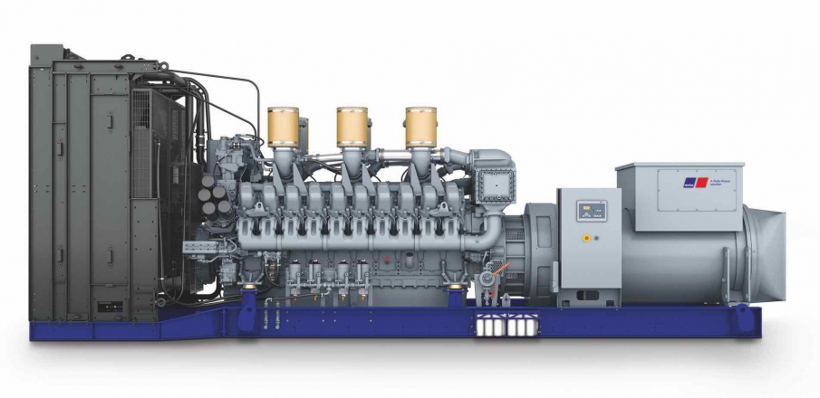 gensets with MTU engines