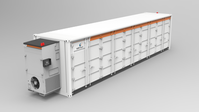 Wärtsilä energy storage systems