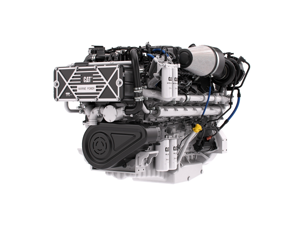 Comparison 2000 hp marine Diesel engines