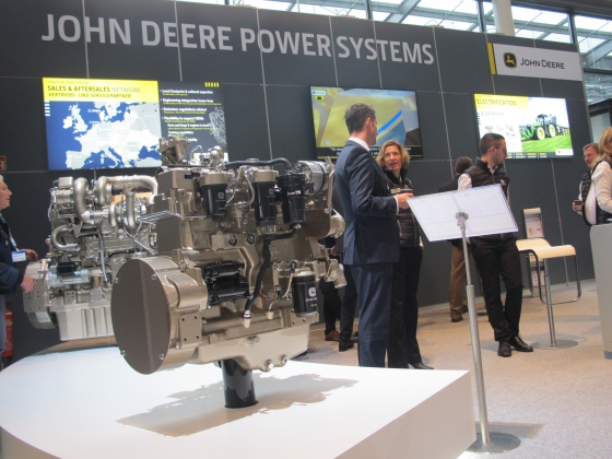 John Deere won't be at Agritechnica